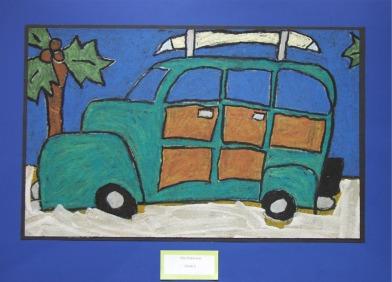 Station wagon 'Woody'